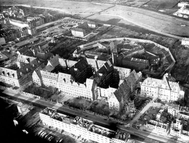 Дворец Юстиции в Нюрнберге.